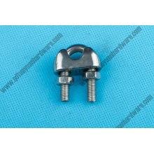 Abrazadera de la cuerda de alambre del acero inoxidable del hardware del aparejo del fabricante de China 741
