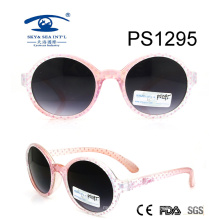 Cute Girl Colorful Kid Plastic Sunglasses (PS1295)