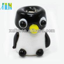 2018 neue Stil Mini Glas Fett kleine Pinguin große Loch Perlen