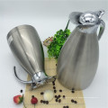 Jarro dobro amplamente utilizado de Kettel da água quente da garrafa térmica do vácuo da parede / potenciômetro com tampa do botão