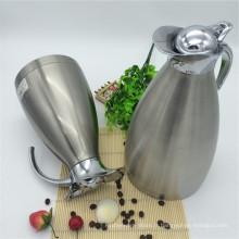 Largement utilisé Double Kettel / Pot pot de thermos thermos de vide de mur avec le couvercle de bouton