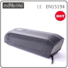 Bateria elétrica da bicicleta do lastest da MOTORLIFE, bateria da e-bicicleta do íon de lítio de 36 volts
