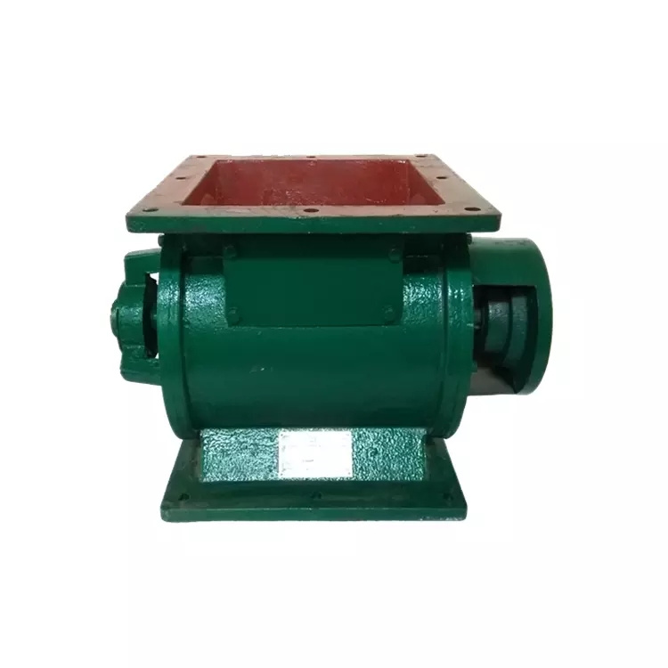 Powder sealing and unloading rotary valve