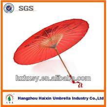 Chinois traditionnel sur papier petit Parasol en bambou parapluie