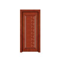 Porta de madeira interior da porta de madeira contínua do quarto da porta (RW018)