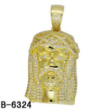 Высокое качество мода ювелирные изделия стерлингового серебра Кулон для мужчин