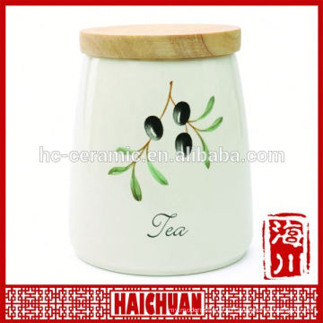 Customized ceramic cheap cookie jar