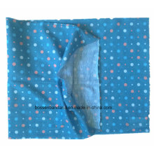 OEM Produce Customized Logo Blue Girl′s Printed Polyester Tubular Buff Bandana