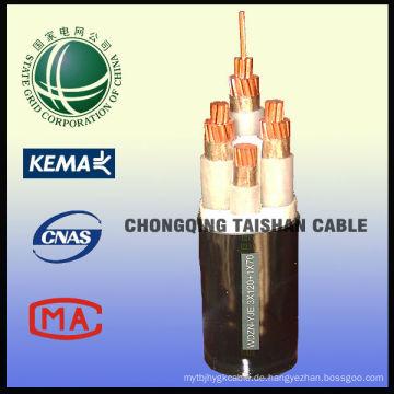 1kV Low Smoke Zero Halogen Stromkabel aus State Grid aus China