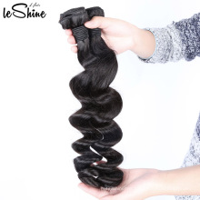 Top Quality Thick 9A Cuticle Aligned Loose Texture 18'' Malaysian Human Virgin Hair Extension Wholesale