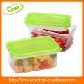 Plástico transparente alimentar conter (RMB)
