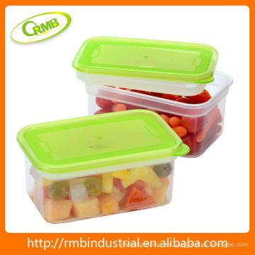 Alimentos transparentes de plástico contienen (RMB)