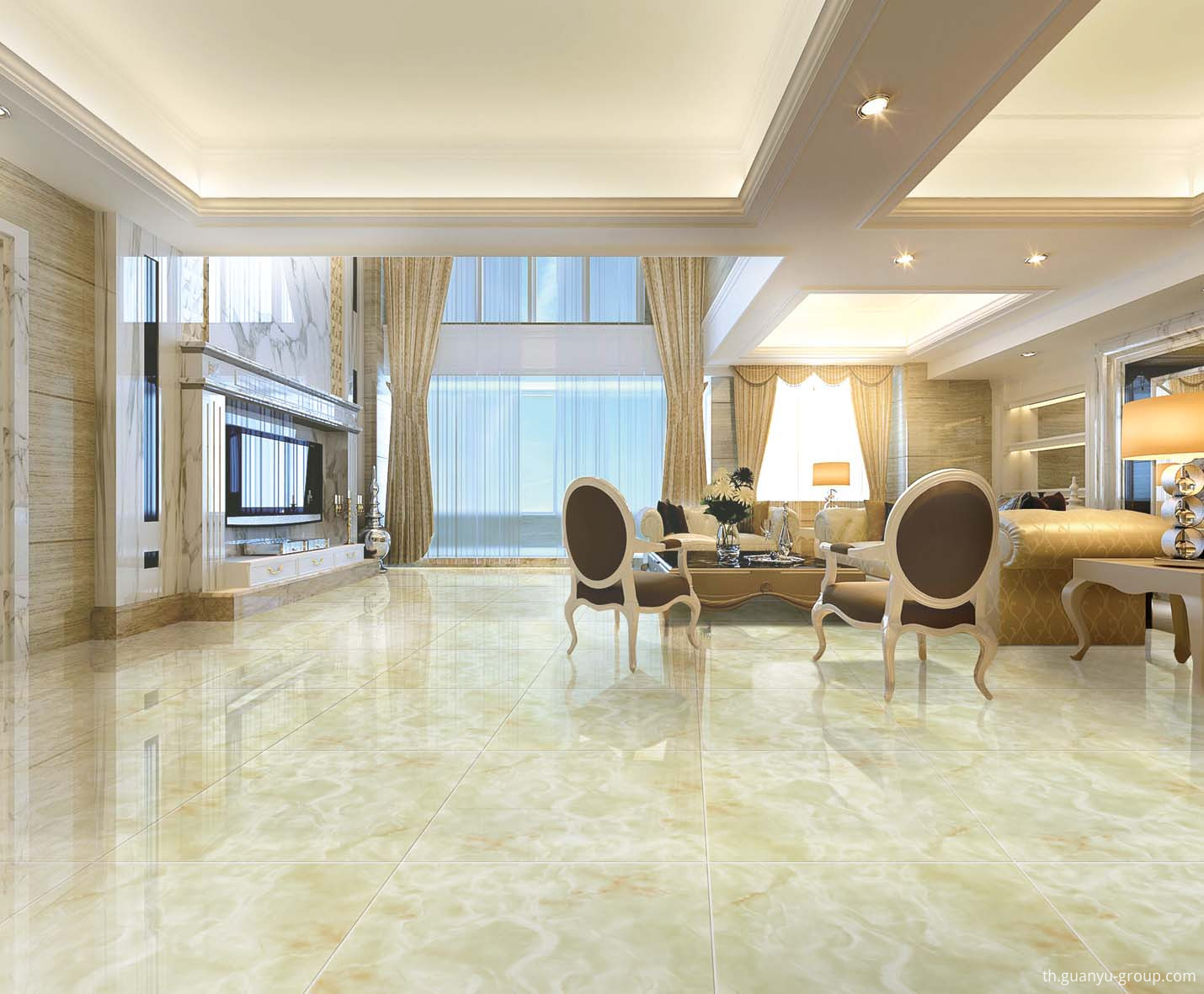 Marble Porcelain Polished Floor Tile