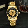 Gold Plated luxury brand  Wrist Watches For Man