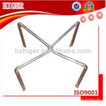 pièces de base faites sur commande de chaise pivotante en aluminium