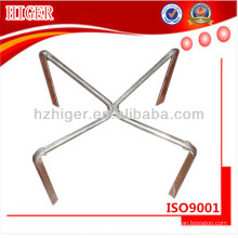 custom made aluminum swivel chair base parts