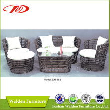 Wicker Furniture Rattan Sofa (DH-183)
