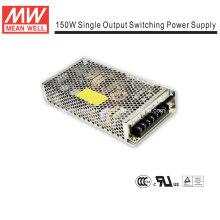Mean Well 150W fonte de alimentação de quadro aberto (NES-150)