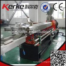 PP / PE / CaCo3 enchimento de plástico máquina de pelotização