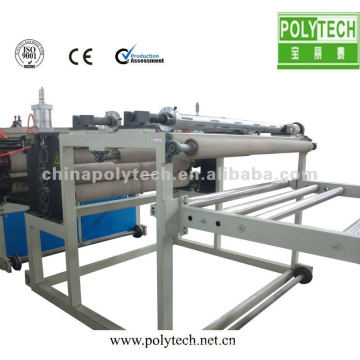 PVC roofing plate extrusion machines
