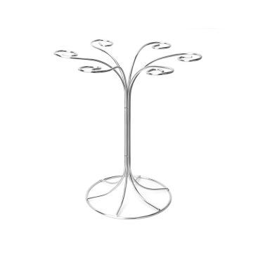Porte-verre à vin en acier inoxydable