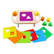 Holzform Sortiertisch Spielzeug für Kinder und Kinder