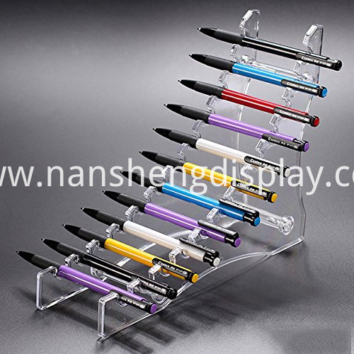 Acrylic Pen Holder Display Stand
