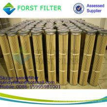 FORST Material de poliéster Material de filtro de polvo de papel Bolsa de filtro de colector de polvo