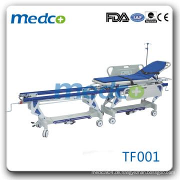 Gebrauchte Verbindungstransfer Ambulanz Trage zu verkaufen TF001
