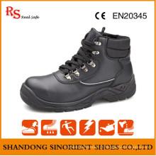 Sapatos de segurança formais de óleo e resistente ao ácido RS723