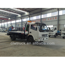 Dongfeng mini 3800mm Wrecker Truck, 4*2 tow truck for sale