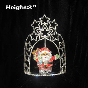 Wholesale Star Santa Claus Christmas In July Pageant Crowns