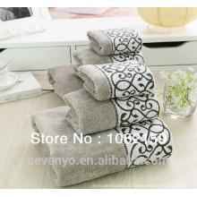 Conjunto de toalha de hotel de luxo 100% algodão