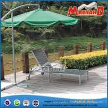 WPC/Polywood jardin mobilier de jardin chaise longue