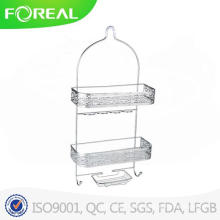 Chromed Metal Wire Bathroom Accessories