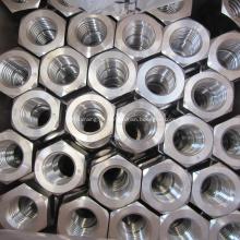 Porca de aço carbono e aço inoxidável