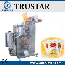 Vertical paste packing machine