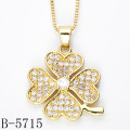 2015 New Style Gold 925 Sterling Silver Pendant (B-5703, B-5715, B-5718, B-5753, B-5775, B-5789Y)