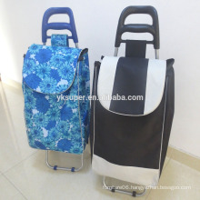 Lightweight Shopping Trolley With Seat, Supermarket Shopping Trolley bag, Folding Shopping Cart