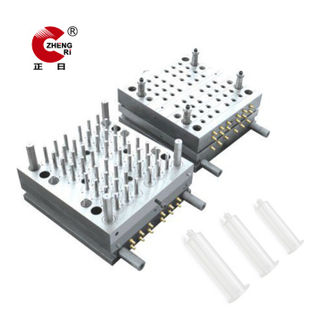 Cold Runner Medical Disposable Plastic Syringe Mould