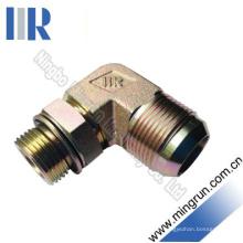 90 Elbow Jic / Metric Male Hydraulikadapter Rohrverbinder (1JH9-OG)