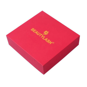 Red Art Paperboard Base and Lid Gift Box