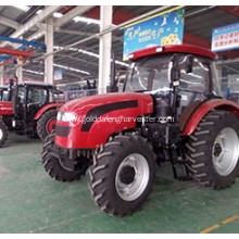 Factory made hot-sale for Agricultural Equipment Wheeled Tractor Strong power engine Large tank convenient maintenance supply to Somalia Factories