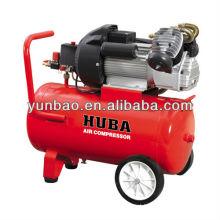 3hp 50L dirigido compressor de ar V2047 dois pistão 8bar ac potência monofásica