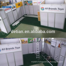 island slatwall exhibition booth trade show booth design free design booth exhibition for Australia Clients