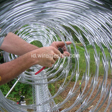 Galvanized Concertina Razor Wire Fence