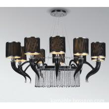 Luxury black modern pendant lamp(40052-10)
