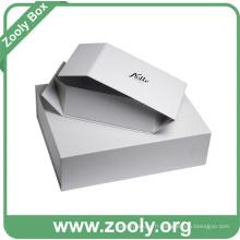 Papiers en caoutchouc pliants personnalisés en carton blanc