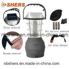 60PC светодиодный солнечный динамо кемпинг света