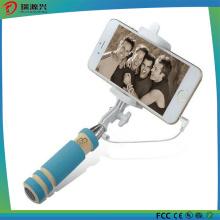 2016 precio de fábrica atado con alambre Selfie Stick Selfie Monopod